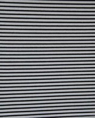 3053 Thick Black Stripe White
