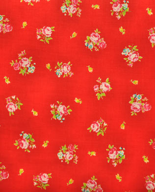 3075030 Sml Flower Red