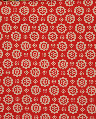 3084530 Red Button Flower