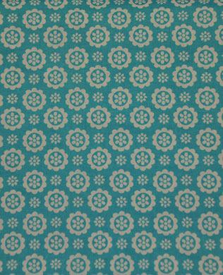3084571 Lt Blue Button Flower