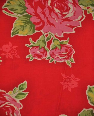 30967 30 Floral Red