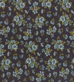 31104 41 Blue Floral White