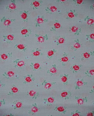 31131 90 Beige Small Roses