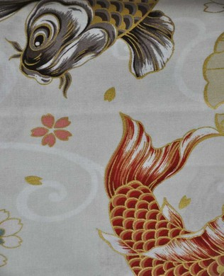 3250 11A Orange Gold Koi