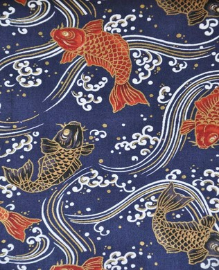 3250 13D Red Blue Small Koi