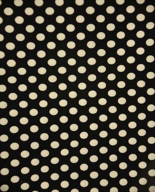 350 110 White on Black Dots