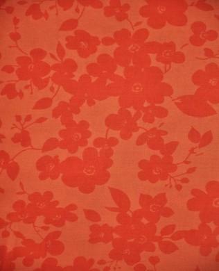 35035 6 Tangerine Floral