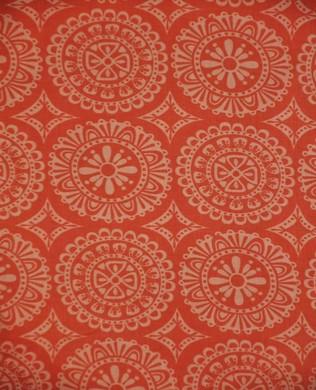 38896 5 Peach Print Circles