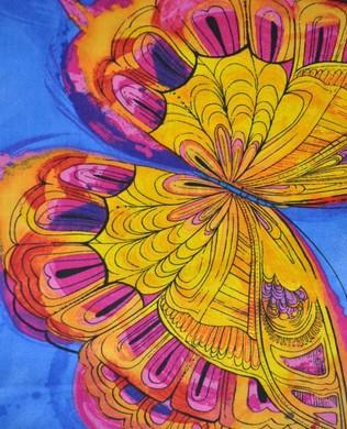 3990 Blue Butterflies