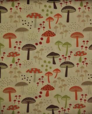 4005 461 Mushrooms White