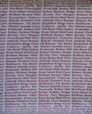 4005 Red White Newsprint