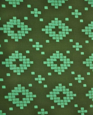 4008 2 Squared Oval Green
