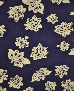 40136 1 Floral Navy