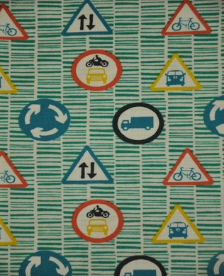 4036 002 Traffic Signs Teal