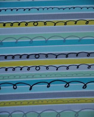 413252 S Turquoise Stripe