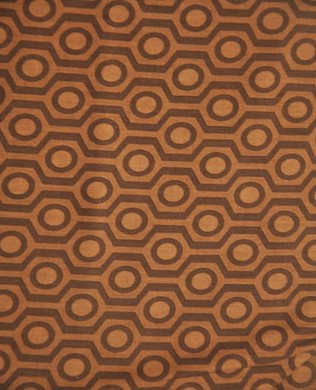 41401032 SPOT HEX BROWN