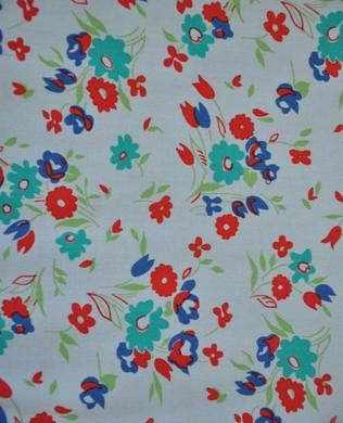 41862 4 Wild Flowers Grey