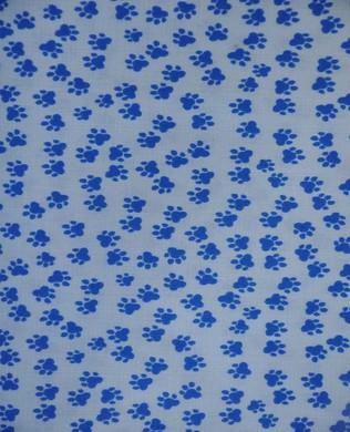 420838 Paw Prints Blue