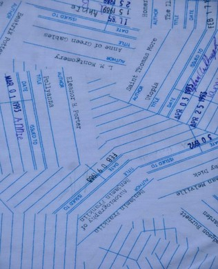 42709 16 Library Cards On Loan