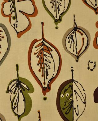 4342-07 Leaf Border Vanilla