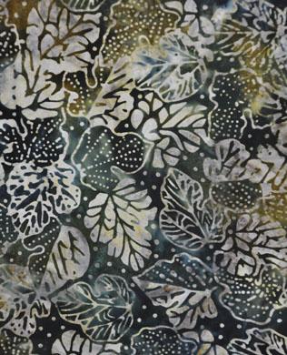 450242 Green Leaves Batik