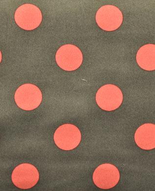 4530GR Grey Maroon Lge Spots