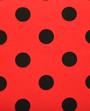 4530RK Red Black Lge Spots