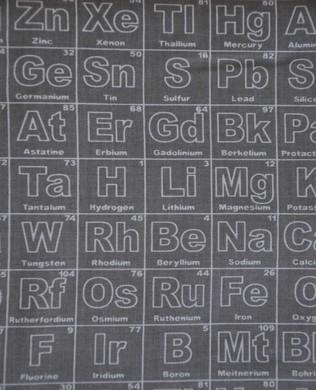 4550 Periodic Table Grey