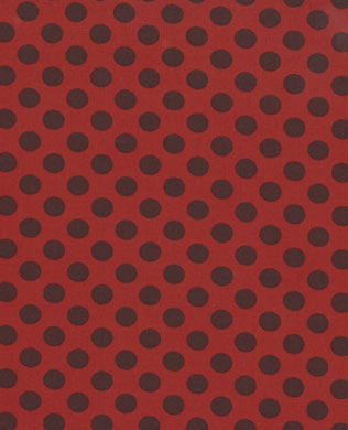 46165 31 Brown Dot on Red