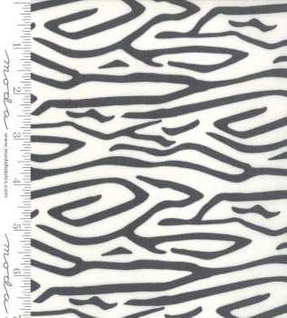 48222 15 Black Zebra Stripe