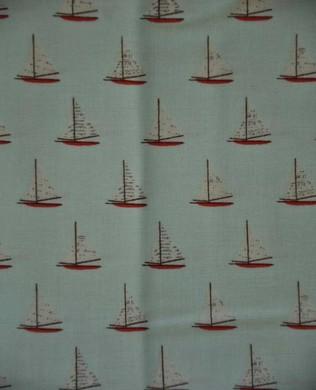 4924 Sailboats Aqua