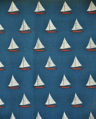 4924 Sailboats Blue
