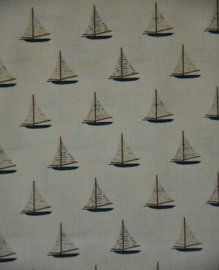 4924 Sailboats Tan