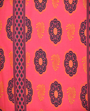 5029 Sari Wrap Pomegranate