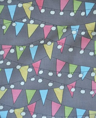 54505934 Bunting and Lights Grey