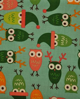 590200 Owls Aqua