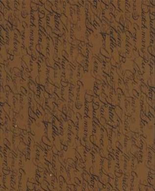 6056 16 Toffee Quilt Script