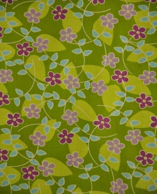 6188 Floating Blossom Green