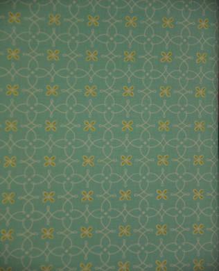 6195 Parterre Aqua Yellow