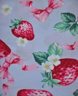 62407 2D Strawberries Purple
