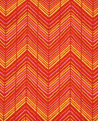 65410 Red Zigzag