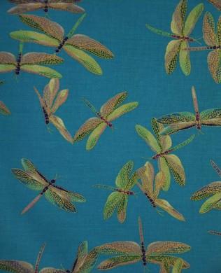 6597 84 Dragonfly Blue
