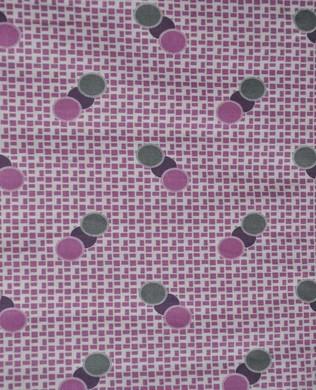 6711 Spots on Grid Purple