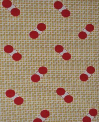 6711 Spots on Grid Yellow