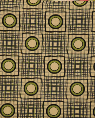 6DHA2 Grey Check Green