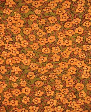 6lec 1 Orange Small Flowers