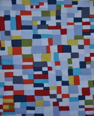 7087 Tiny Patches Teal