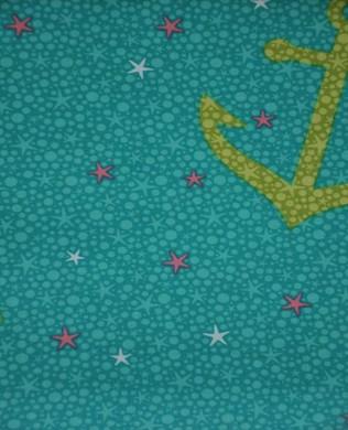 7109 Starfish Anchors Aqua