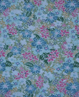 7123 Floral Green