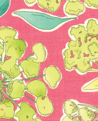 717014 Pink Lge Floral